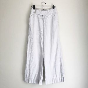 Anthropologie Elevenses Wide Leg Trouser Pants